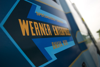 Hazmat Trucking Companies Werner are hiring Class A CDL's in the LA and Sacromento, CA areas ...